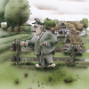 Cartoon: Münsterland (small) by HSB-Cartoon tagged münsterland,farmer,grandpa,opa,landwirt,landwirtschaft,deutschland,germany,natur,airbrush,airbrushdesign,illustration