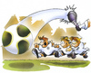 Cartoon: soccerkids (small) by HSB-Cartoon tagged soccer,em,europameisterschaft,fussball,fußball,nationalmannschaft,team,nationalteam,nationalspieler,kinder,sport,ball,vorlage,torschuß,fußballspieler,airbrush