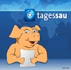 Cartoon: Die Tagessau (small) by Cartoonfix tagged die,tagessau