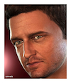 Cartoon: Gerard Butler (small) by Cartoonfix tagged gerard,butler