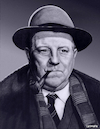 Cartoon: Jean Gabin (small) by Cartoonfix tagged jean,gabin,kommissar,maigret