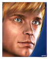 Cartoon: Mark Hamill - Luke Skywalker (small) by Cartoonfix tagged mark,hamill,skywalker,star,wars,episode