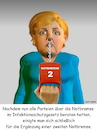 Cartoon: Notbremse 2 (small) by Cartoonfix tagged merkel,notbremse,infektionsschutzgesetz,änderung