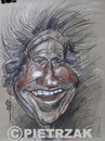 Cartoon: Keith Richards (small) by Darek Pietrzak tagged caricature