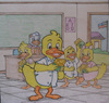 Cartoon: happy duck (small) by jayson arellano tagged honest,duck