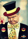 Cartoon: Venizelos friend of the Germans (small) by takis vorini tagged vorini