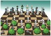 Cartoon: Coronavirus Chess Game (small) by miguelmorales tagged coronavirus,death,underdelevoped,countries,poverty,dead,crisis,poor