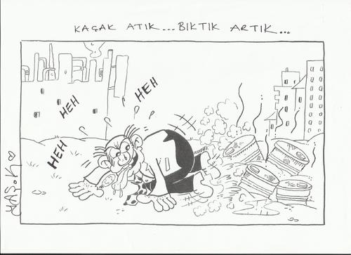 Cartoon: ATIK (medium) by yasar kemal turan tagged atik