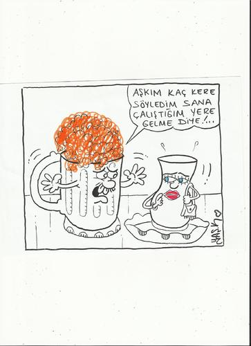 Cartoon: beer (medium) by yasar kemal turan tagged beer