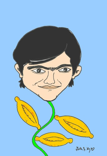 Cartoon: Berkin Elvan (medium) by yasar kemal turan tagged berkin,elvan