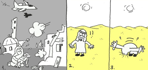 Cartoon: deaf (medium) by yasar kemal turan tagged deaf
