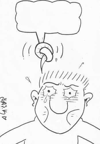 Cartoon: dialogue- (medium) by yasar kemal turan tagged dialogue