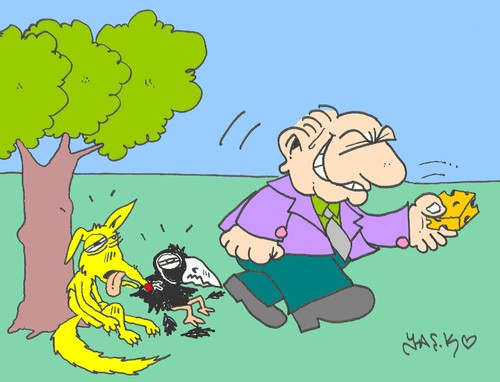 Cartoon: esurient (medium) by yasar kemal turan tagged esurient