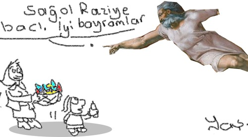 Cartoon: Feast of Ramadan (medium) by yasar kemal turan tagged feast,of,ramadan