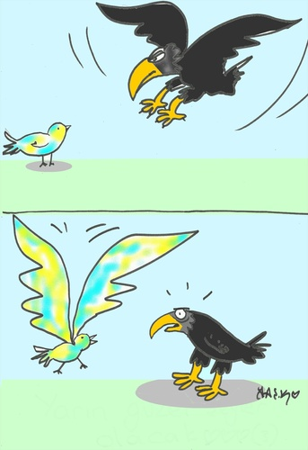 Cartoon: fenerbahce (medium) by yasar kemal turan tagged fenerbahce,love