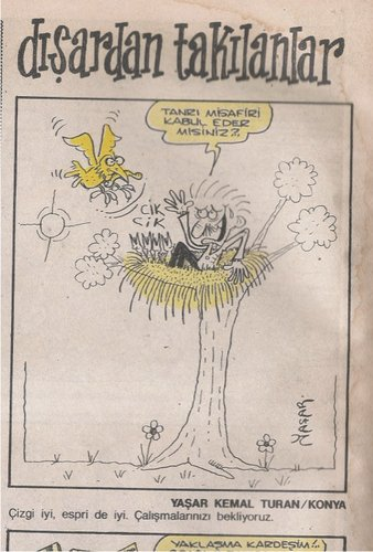 Cartoon: first cartoon-1990 (medium) by yasar kemal turan tagged cartoon,bloodline1990