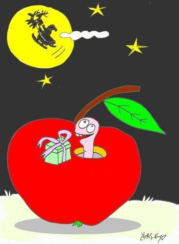 Cartoon friend medium by yasar kemal turan tagged apple founded