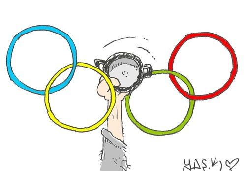 Cartoon: Rio 2016 .. (medium) by yasar kemal turan tagged rio,2016