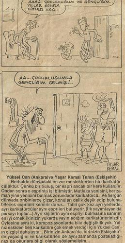 Cartoon: same cartoon1986-interesting (medium) by yasar kemal turan tagged grgr,can,yuksel,turan,kemal,yasar,aral,oguz