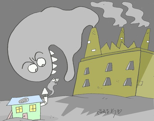 Cartoon: stove (medium) by yasar kemal turan tagged stove