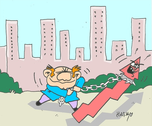 Cartoon: wild (medium) by yasar kemal turan tagged economy,wild,capital,indicator,rich