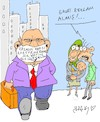 Cartoon: advertising get (small) by yasar kemal turan tagged advertising,get