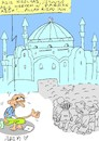 Cartoon: ayasofya (small) by yasar kemal turan tagged ayasofya