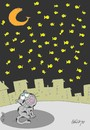 Cartoon: billions of stars (small) by yasar kemal turan tagged billions,of,stars