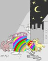 Cartoon: colorful Turkey (small) by yasar kemal turan tagged colorful,turkey