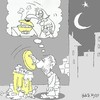 Cartoon: craving (small) by yasar kemal turan tagged craving
