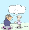 Cartoon: expression-azizlik (small) by yasar kemal turan tagged dialogue,democracy,expression
