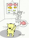 Cartoon: eye exam (small) by yasar kemal turan tagged eye,exam