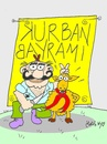Cartoon: festival of sacrifices (small) by yasar kemal turan tagged festival,of,sacrifices,islam