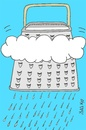 Cartoon: grater (small) by yasar kemal turan tagged grater,cloud,rain,nature,love