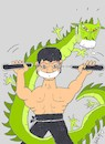 Cartoon: great fight (small) by yasar kemal turan tagged great,fight