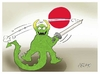 Cartoon: Japanese sword (small) by yasar kemal turan tagged japanese,sword,japan