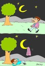Cartoon: legend (small) by yasar kemal turan tagged legend,moon,jacket