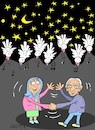 Cartoon: my mom and dad (small) by yasar kemal turan tagged my,mom,and,dad