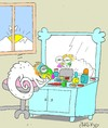 Cartoon: new day (small) by yasar kemal turan tagged new,day