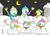 Cartoon: no carrot (small) by yasar kemal turan tagged no,carrot,vegetables,fruit,love,snowman
