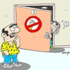 Cartoon: no to violence (small) by yasar kemal turan tagged no,to,violence,on,women,life,love