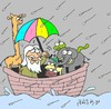 Cartoon: Noah (small) by yasar kemal turan tagged noah
