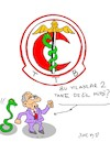 Cartoon: politician (small) by yasar kemal turan tagged politician