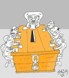 Cartoon: preselection (small) by yasar kemal turan tagged preselection