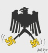 Cartoon: racism (small) by yasar kemal turan tagged racism,fascism,germany