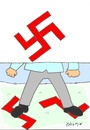 Cartoon: racism (small) by yasar kemal turan tagged racism,fascism,germany,minorities