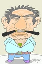 Cartoon: rough-violence (small) by yasar kemal turan tagged rough,violence