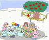 Cartoon: scene of crime (small) by yasar kemal turan tagged scene,of,crime