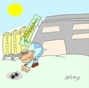 Cartoon: selfish (small) by yasar kemal turan tagged wheat,selfish,boss,ant