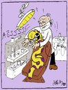 Cartoon: snake and dentist (small) by yasar kemal turan tagged snake,and,dentist